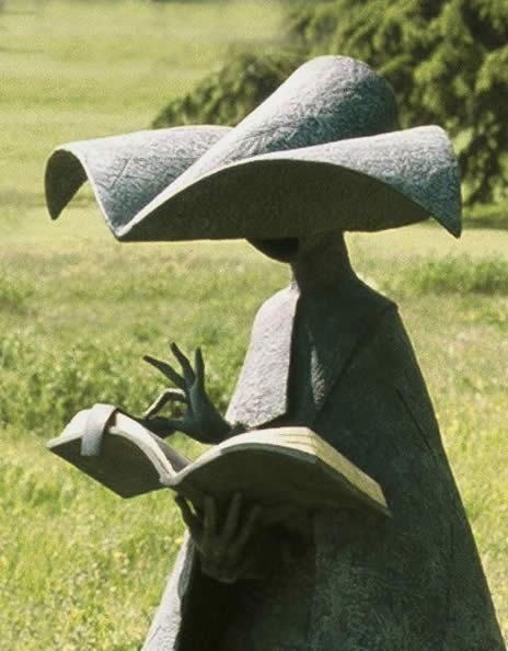 """Guided Missal"" by sculptor, Philip Jackson."